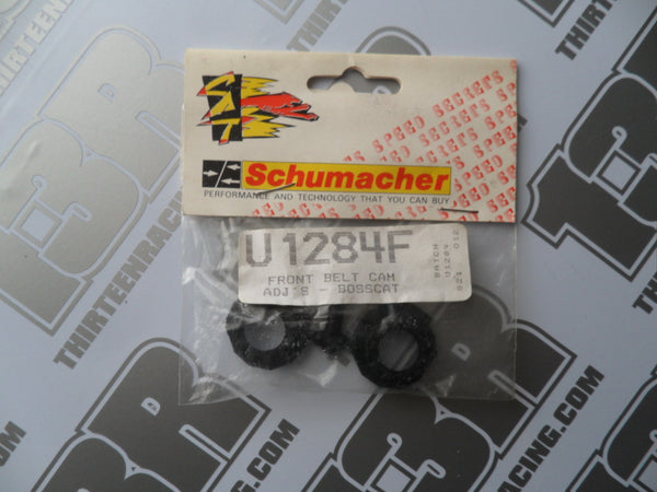 Schumacher Bosscat Front Belt Cam Adjusters (2pcs), U1284F