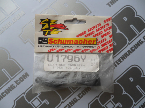 Schumacher Rear Hub Carriers 1 Deg Toe In (Pr) - C2000, U1796Y