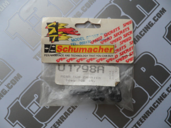 Schumacher Rear Hub Carriers 3 Deg Toe In (Pr) - C2000, U1798A