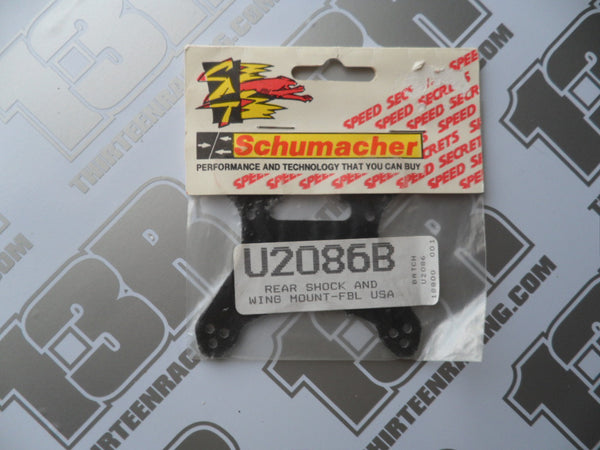 Schumacher Fireblade USA Rear Shock/Wing Mount - S1 Composite, U2086B