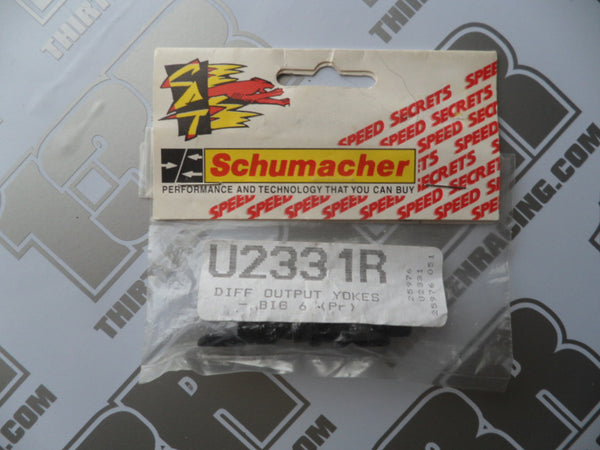 Schumacher Big 6 Differential Output Yokes (Pr), U2331R