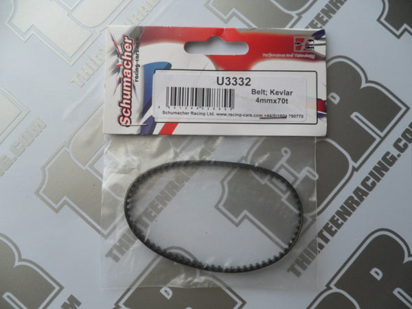 Schumacher CAT SX/SX2/SX3 Front Drive Belt - 4mm x 70T, U3332