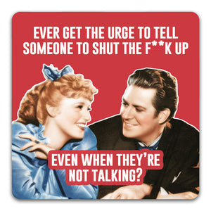 140 Ever Get the Urge Funny Rubber Tabletop Car Coaster by CJ Bella Co.