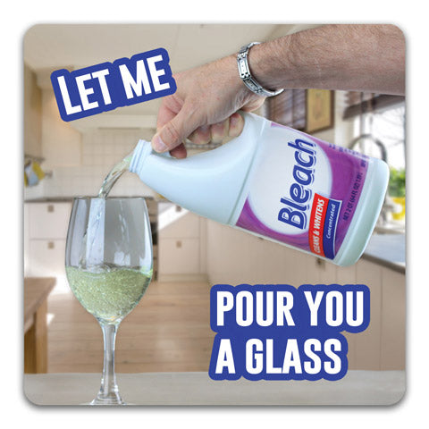 """Let Me Pour You a Glass"" Drink Coaster by CJ Bella Co."