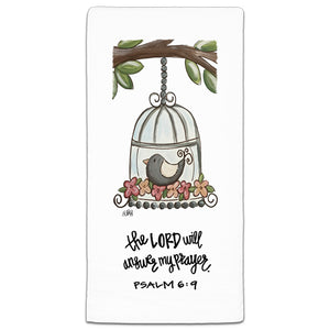 """The Lord Will"" Flour Sack Towel by Elizabeth Hilliard"
