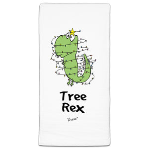 """Tree Rex"" Flour Sack Towel by Co-edikit"