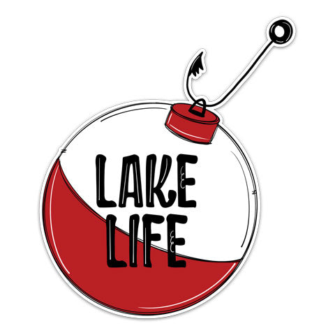 """Lake Life"" Vinyl Decal by CJ Bella Co"