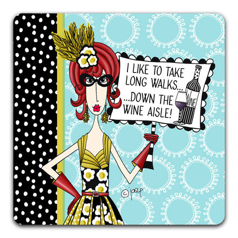 """I Like To Take"" Dolly Mama's by Joey Drink Coaster"