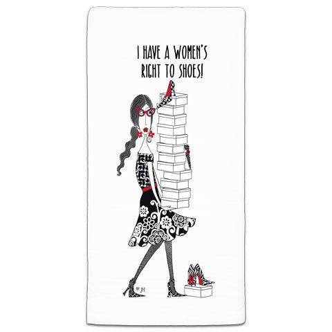 """I Have A"" Dolly Mama's by Joey Flour Sack Towel"