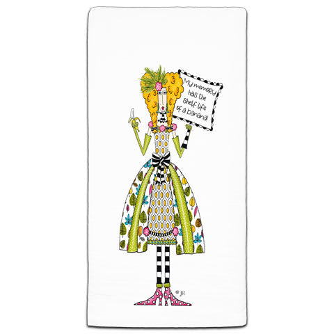 """My Memory Has The"" Dolly Mama's by Joey Flour Sack Towel"