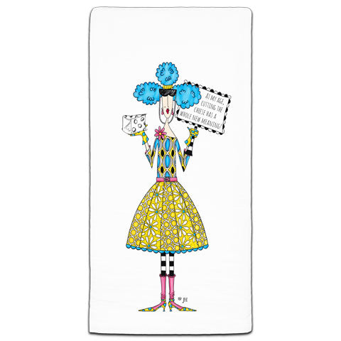 """At My Age"" Dolly Mama's by Joey Flour Sack Towel"