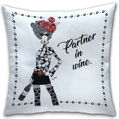"""Partner In Wine"" Dolly Mama's by Joey Pillow"