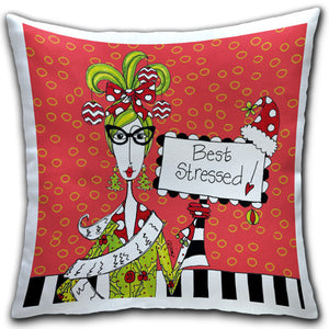 """Best Stressed"" Dolly Mama's by Joey Pillow"