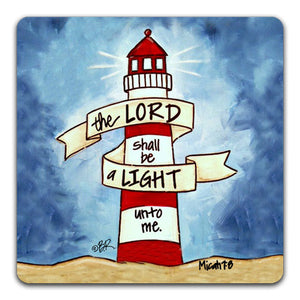 """The Lord Shall Be"" Drink Coaster by Beth Radford"