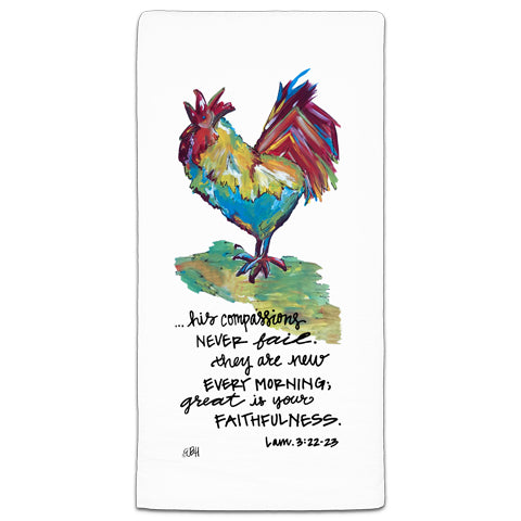 """His Compassions"" Flour Sack Towel by Elizabeth Hilliard"