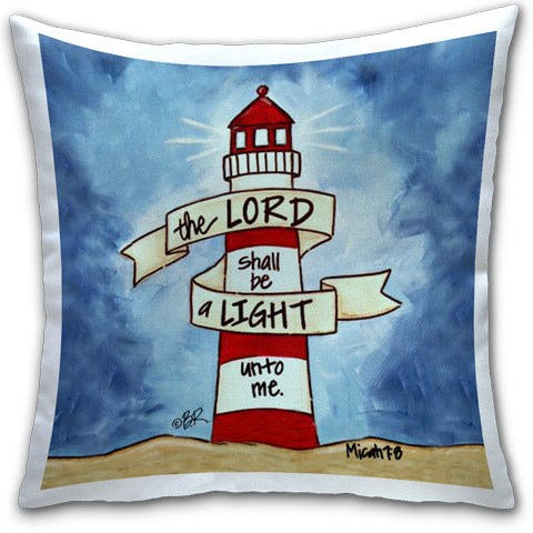 """The Lord Shall Be"" Pillow by Elizabeth Hilliard – CJ ..."