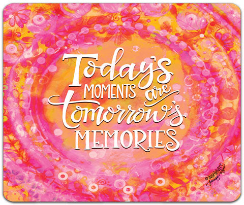 """Today's Moments"" Mouse Pad by Jennifer Wagner"