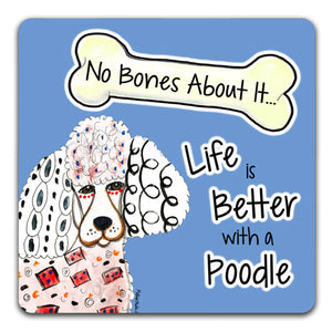 MM1-1272-Life-is-Better-With-a-Poodle-Dog-Bones-Rubber-Tabletop-Car-Coaster-by-Mellissa-Meeks-and-CJ-Bella-Co