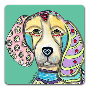 MM1-132-Face-Beagle-Rubber-Tabletop-Car-Coaster-by-Mellissa-Meeks-and-CJ-Bella-Co