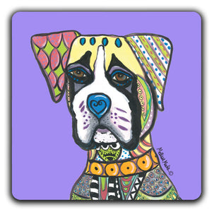 MM1-137-Face-Boxer-Rubber-Tabletop-Car-Coaster-by-Mellissa-Meeks-and-CJ-Bella-Co