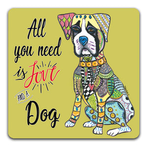 MM1-677-Love-Dog-Boxer-Rubber-Tabletop-Car-Coaster-by-Mellissa-Meeks-and-CJ-Bella-Co