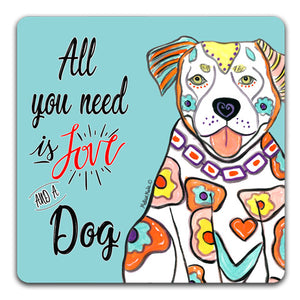 MM1-744-Love-Dog-Pit-Bull-Rubber-Tabletop-Car-Coaster-by-Mellissa-Meeks-and-CJ-Bella-Co