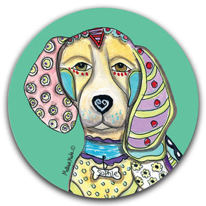 MM2-132-Face-Beagle-Cute-Car-Coaster-Melissa-Meeks-and-CJ-Bella-Co