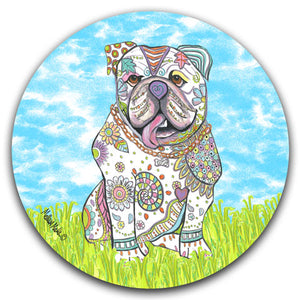 MM2-381-Dog-Grass-Sky-Car-Coaster-Melissa-Meeks-and-CJ-Bella-Co
