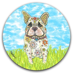 MM2-384-Dog-Grass-Sky-Car-Coaster-Melissa-Meeks-and-CJ-Bella-Co