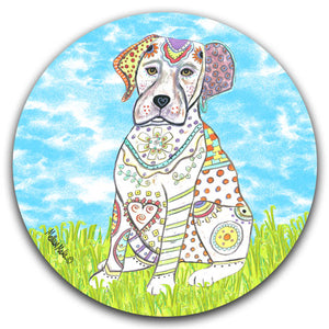 MM2-415-Labrador-Grass-Dog-Lab-Sky-Car-Coaster-Melissa-Meeks-and-CJ-Bella-Co