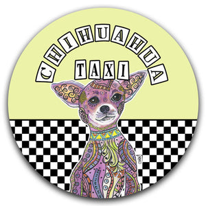 MM2-680-Chihuahua-Taxi-Car-Coaster-Melissa-Meeks-and-CJ-Bella-Co