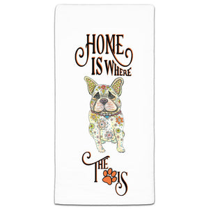 MM3-1045-Home-Dog-Home is where the Paw-Frenchie-French-Bulldog-Towel-Melissa-Meeks-and-CJ-Bella-Co