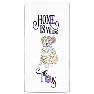 MM3-1076-Home is where Paw-Dog-Labrador-Lab-Towel-Melissa-Meeks-and-CJ-Bella-Co