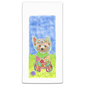 MM3-321-Yorkshire-Terrier(Yorkie) at the park flour sack Towel-Melissa-Meeks-and-CJ-Bella-Co