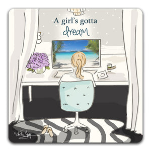 RH1-152-A-girl-dreaming-of-a-tropical-vaction-on-her-computer-Tabletop-Coaster-by-CJ-Bella-Co-and-Rose-Hill-Design-Studio