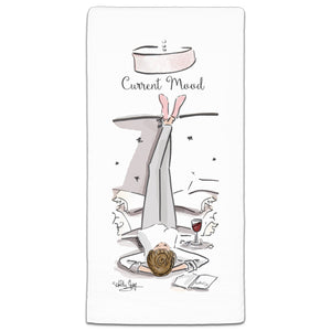 RH3-165 Current Mood flour sack towel by Heather Stillufsen and CJ Bella Co.