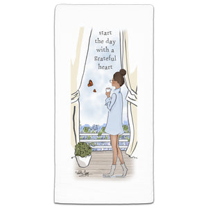 RH3-222-Start-Day-With-Grateful-Heart-Rose-Hill-CJ-Bella-Co-Flour-Sack-Towel