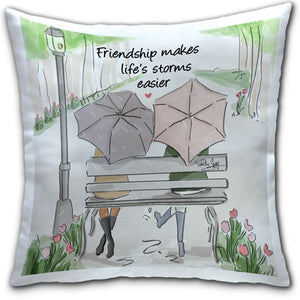 RH4-149-Friendship Makes -Life-Storms-Easier-Everyday-Pillow-Rose-Hill-CJ-Bella-Co