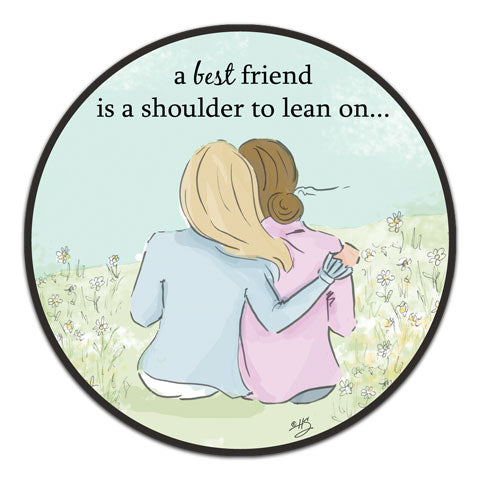 """A Best Friend"" Vinyl Decal by Heather Stillufsen"