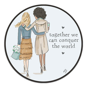 """Together We Can"" Vinyl Decal by Heather Stillufsen"