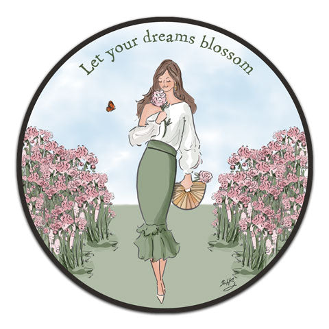 """Let Your Dreams"" Vinyl Decal by Heather Stillufsen"