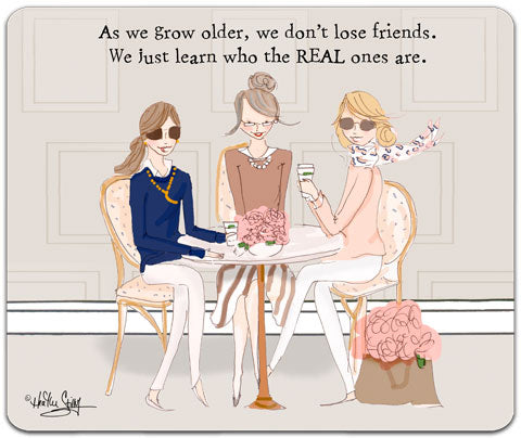 """As We Grow Older"" Mouse Pad by Heather Stillufsen"