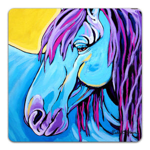 SE1-113-Blue-Horse-Table-Top-Coaster-by-Sally-Evans-and-CJ-Bella-Co