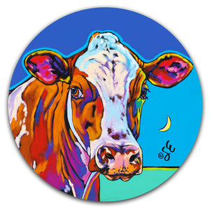 SE2-121-Cow-Moon-Sky-Car-Coaster-by-Sally-Evans-and-CJ-Bella-Co