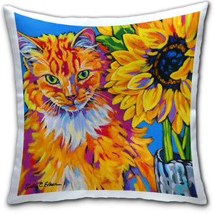 SE4-101-Tabby-Sunflower-Cat-Pillow-by-Sally-Evans-and-CJ-Bella-Co