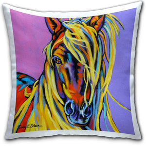 SE4-112-Blonde-Blondie-Horse-Pillow-by-Sally-Evans-and-CJ-Bella-Co
