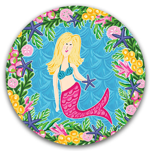 """Mermaid"" Car Coaster by Tracey Gurley"