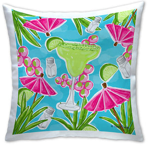 TG4-108 Margarita Pillow by Tracey Gurley and CJ Bella Co