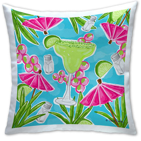 """Margarita"" Pillow by Tracey Gurley"