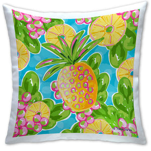 TG4-111 Pineapple Pillow by Tracey Gurley and CJ Bella Co